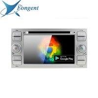 For Ford Mondeo Focus Fiesta Transit Galaxy Fusion C MAX S MAX C S MAX Radio DVD Radio Player Black silver Android Head Unit