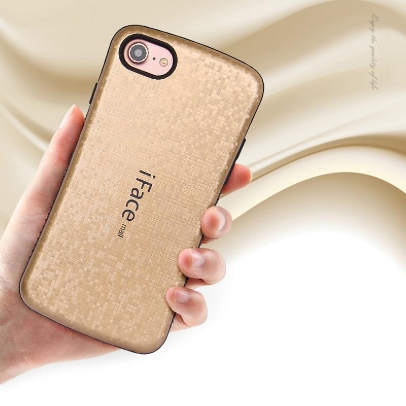 Kasus Untuk IPhone XS Max 7 8 Plus Penutup Shockproof Iface Mall - Aksesori dan suku cadang ponsel - Foto 3