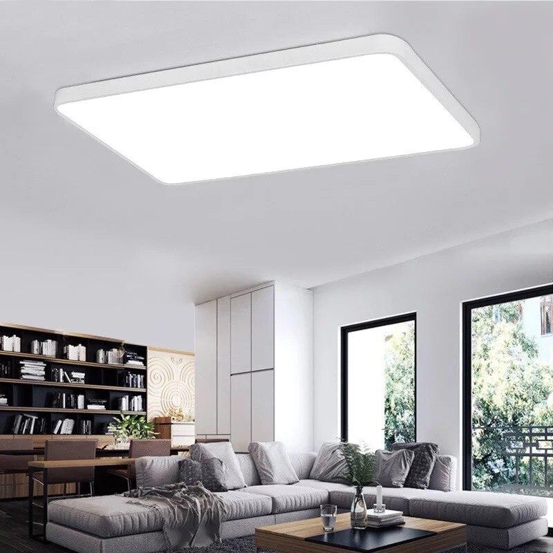 HAWBORRY Slim 5CM LED Ceiling Light Living Room Aisle Balcony Bedroom Restaurant Room Modern Simple Macaron Ceiling Light