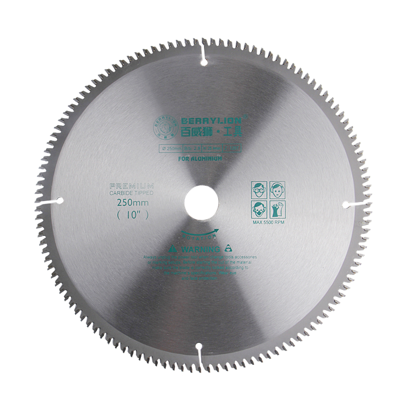 10''/250mm Circular Saw Blade 120 Teeth Alloy Steel Wheel Discs For Cutting Aluminum Saw Blades Plate Power Tool