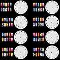 OPHIR Наклейки и Наклейки 200 Аэрограф Ногтей Трафарет Дизайн 20 Листов Шаблонов Комплект Щетки Краски Ногтей Tools_JFH1-JFH5