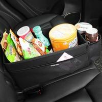 Storage Box Car Organizer Seat Gap PU Case Pocket Car Seat Side Slit for Wallet Phone Coins Cigarette Keys Cards