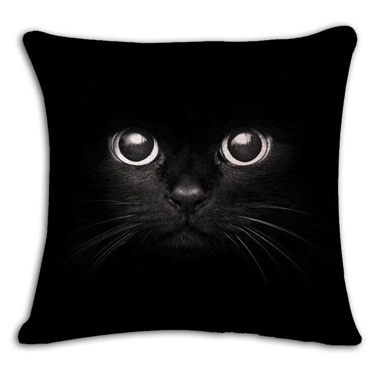 Cat Affection Decorative Cat Pillowcase