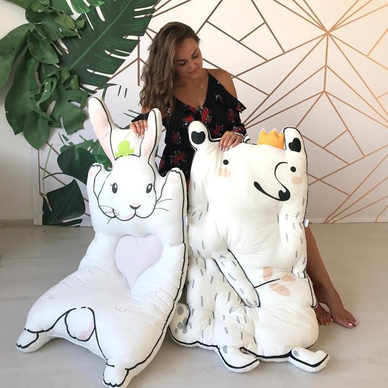 Kocyk dla dzieci Kocyk dla królika Gra Mata dla dzieci KAMIMI - Pościel - Zdjęcie 1