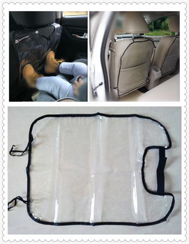 Car shape cleaning seat cover to protect children's foot pad mud for BMW all series 1 2 3 4 5 6 7 X E F-series E46 E90 F09 image