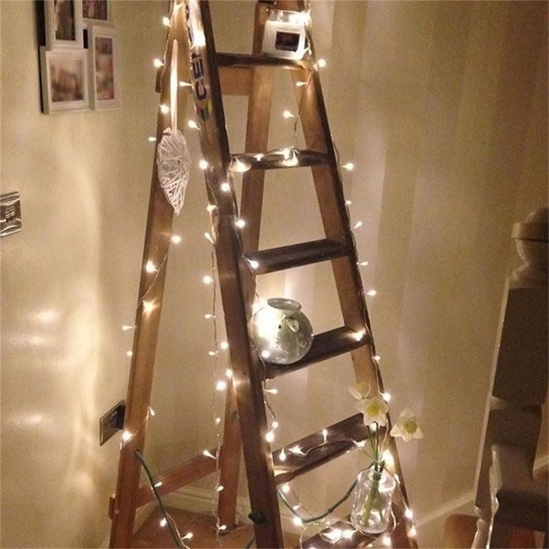 LED String Lights Holiday Lighting 5M 40LEDs AC220V EU Plug Xmas Wedding Party Christmas Decorations Light Fairy Garland Lamps