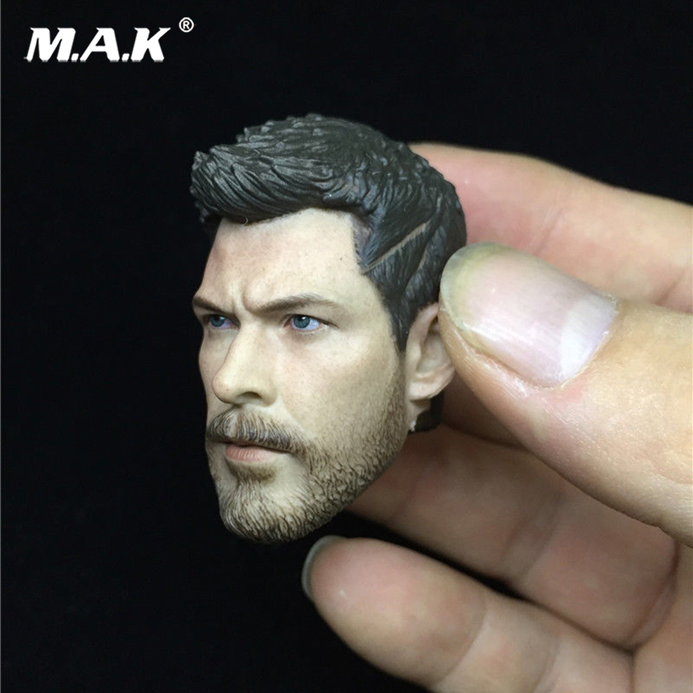 1//6 The Avengers Thor Ragnarök Thor Odinson Head Carving Toy Fit 12/'/' Figure