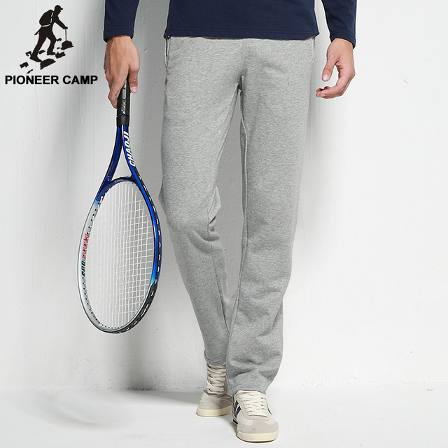 Pioneer Camp 2017 new fashion brand mens casual hoody pants slim fit   men's joggers active sweatpants Free shipping