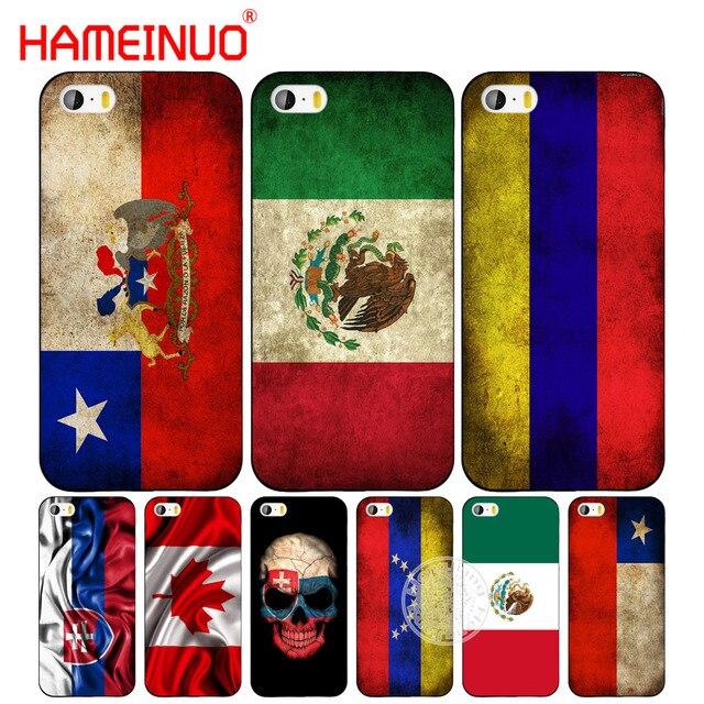 2527a5c81b3 Funda para teléfono móvil HAMEINUO eslovaco México Canadá chile colombia bandera  para iphone 6 4 4s