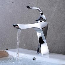 OUYASHI bathroom basin faucet water tap deck mounted single handle hole  modern undercounter