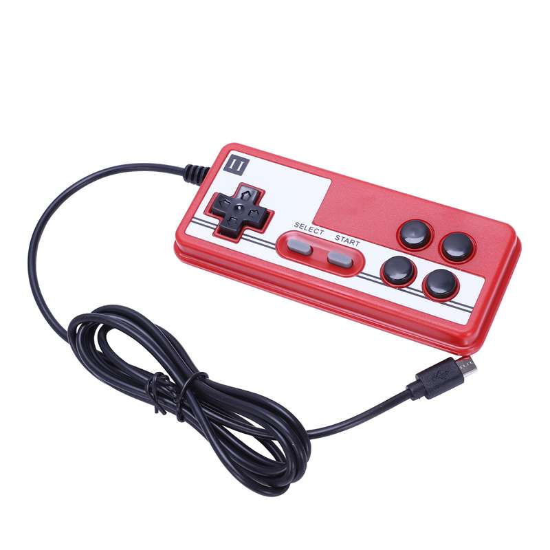 Image 4 - Powkiddy 2.6 Inch Retro Game Mini Handheld Console Support AV Output Built In 500 Games Double Player With Game Controller(Red-in Handheld Game Players from Consumer Electronics