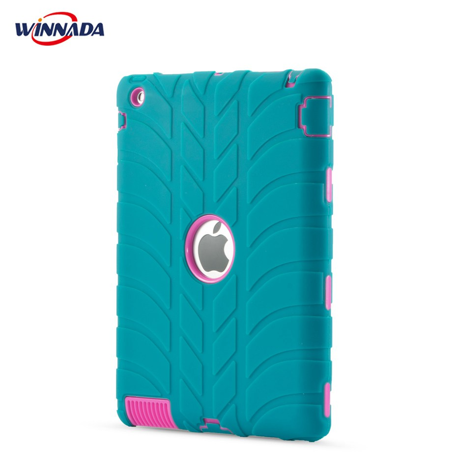 For ipad 2 case Kids Friendly Non-toxic Silicon Heavy Duty Shock Proof full body Childre ...