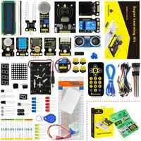Nova Embalagem! Keyestudio super starter kit de aprendizagem (sem placa unor3) para arduino programação kit educação + pdf