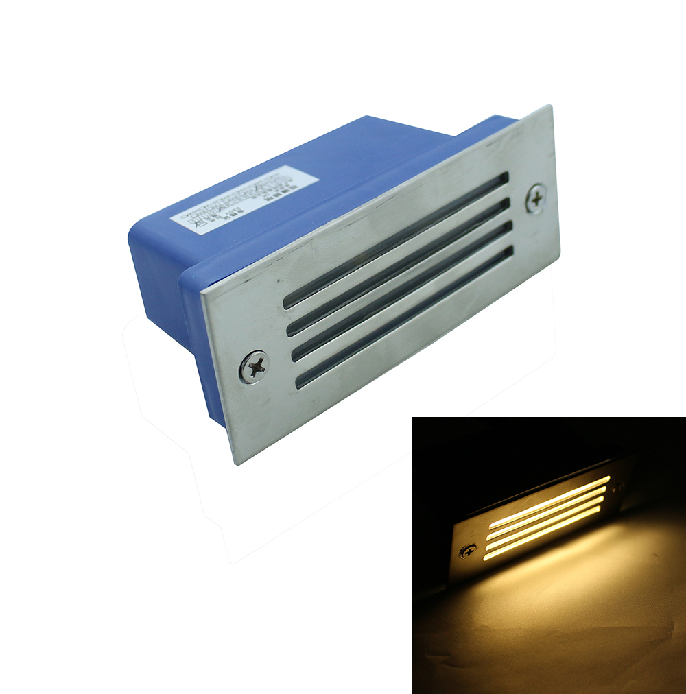 Ulter bright 3W Aluminium LED Wall Corner Light IP67 Waterproof ... for Wall Foot Light  568zmd
