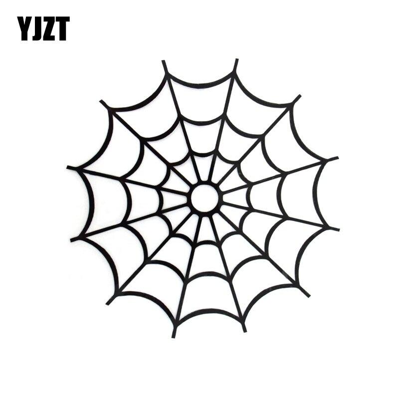 11 3cm 11 5cm Cartoon Fashion Spider Web Cobweb Die Cut Vinyl