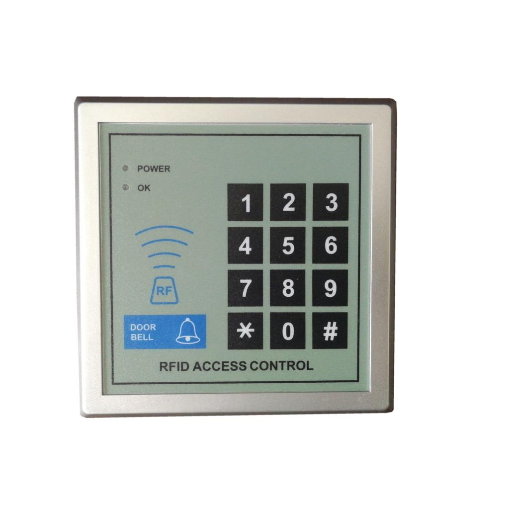 Rfid 125Khz Standalone Access Control Keypad EM Card Keypad for Door Access Control carea 1000 user proximity wg26 rfid 125khz em card plastic access control keypad standalone access control cr 3105a