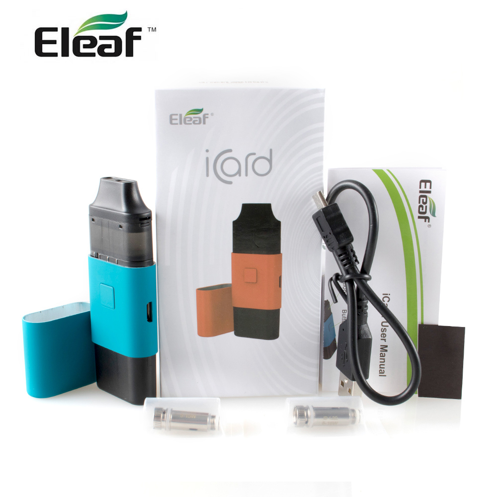 RU In Stock! Original Eleaf iCard Kit 15w built in 650mAh Battery with 2ml Cartridge <font><b>ID</b></font> 1.2ohm <font><b>coil</b></font> E cigarette vape kit image