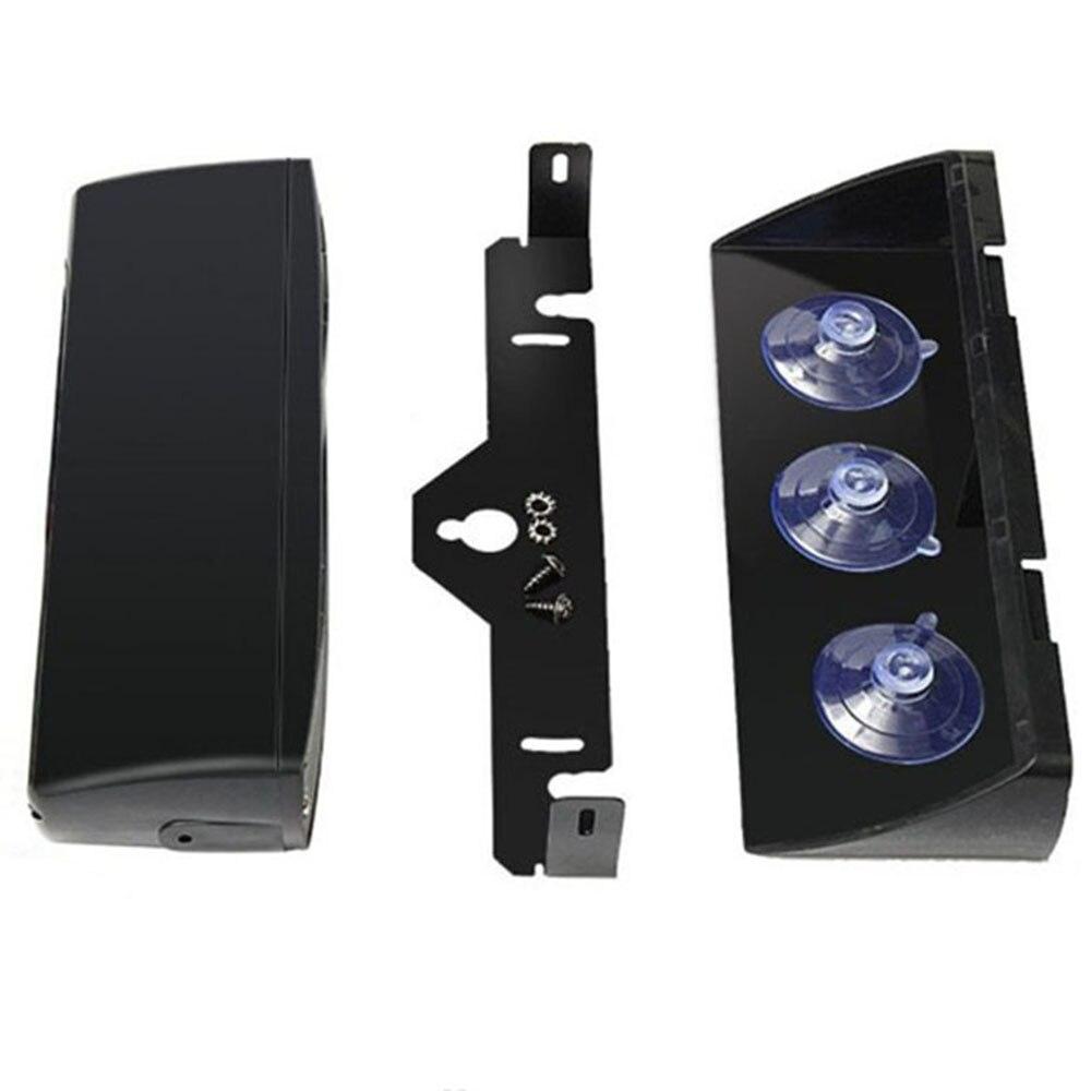 16 LEDs 18 Flashing Modes 12V Car Truck Emergency Flasher Dash Strobe Warning Light Day Running Flash Led Police Lights