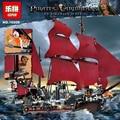 Nueva LEPIN 16009 1151 unids Reina Anne revenge Piratas del Caribe Building Blocks Set figuras Compatible con Legoe 4195