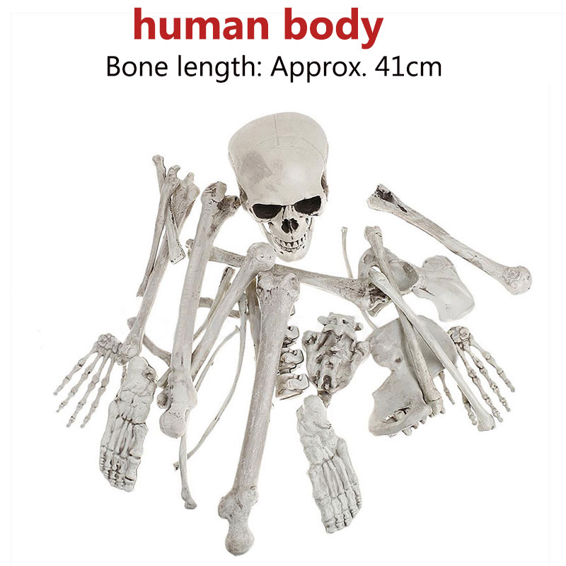 Halloween Decoration Bone Props Animals Skeleton Ornaments Bat Spider Dragon Bird Bones Hallowmas Horror House Party Decoration (90)