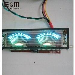 140*40 мм VFD модуль экранная панель графическая решетка для HIFI усилитель мощности SCM флуоресцентный дисплей с водительской платой VDF-7708-8
