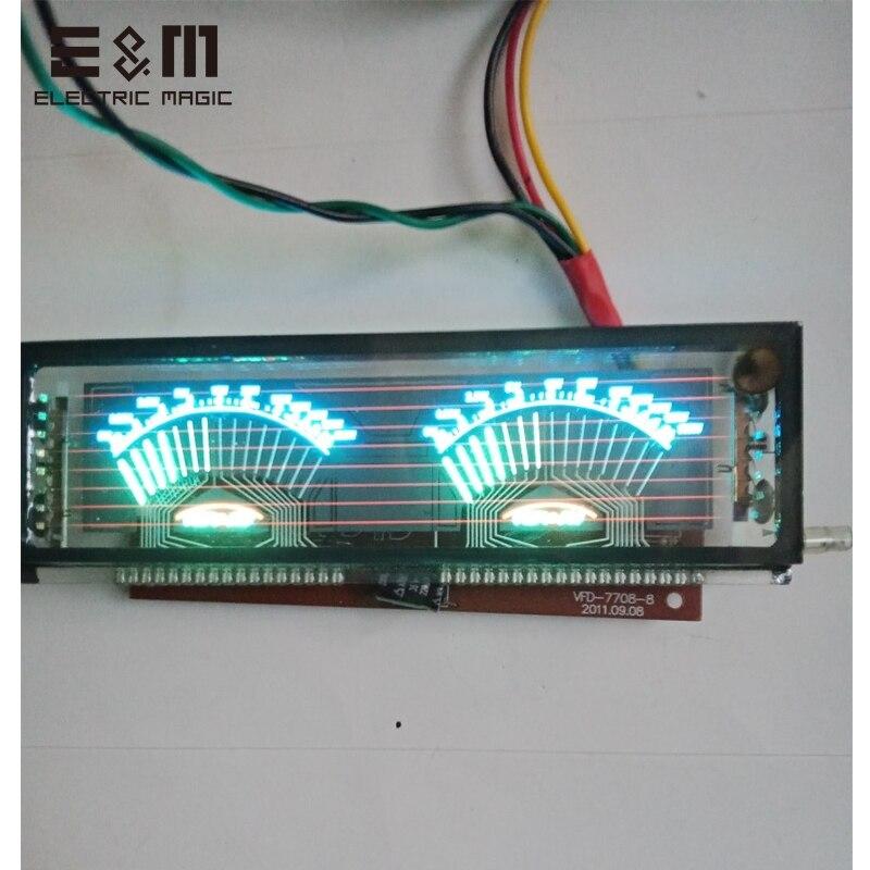 140*40 milímetros VFD Módulo do Painel de Tela Gráfica de Treliça para Amplificador De Potência De ALTA FIDELIDADE SCM Display Fluorescente com Placa de Motorista VDF-7708-8