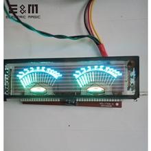 Panel de pantalla de módulo VFD de 140x40mm, celosía gráfica para amplificador de potencia HIFI, SCM, pantalla fluorescente con placa controladora VDF 7708 8