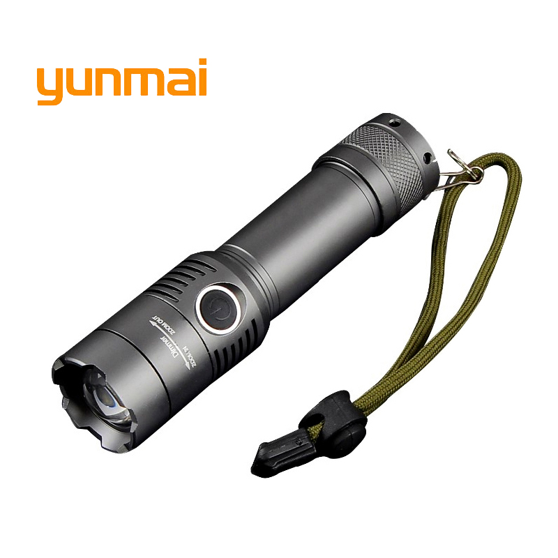 Powerful CREE XM-L T6 3800Lumens Torch LED Flashlight Light Portable Penlight Waterproof Lantern AAA or 18650 Battery ultrafire uf 3a cree xp e 70 lumens led flashlight with clip mini portable penlight torch lantern fit with 2 aaa battery