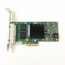 中国 OEM ユニット/第三者ユニット New サーバアダプタインテル I350 T4 PCI Express アコースティッククアトロ RJ45 puertos ギガビット NIC