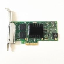 Trung Quốc OEM Đơn Vị/Bên Thứ Ba Đơn Vị Máy Chủ Mới Adapter cho Intel I350 T4 PCI Thể Hiện cuatro RJ45 puertos Gigabit NIC