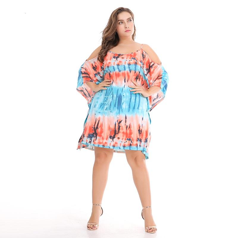 46d3d5f2aae70 US $17.81 46% OFF Asmpin 2018 Fashion Beach Summer Dress Floral Print  Hawaii Chiffon Causal Off Shoulder Boho Style Women Sexy Dress Vestidos-in  ...
