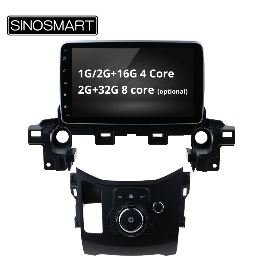 SINOSMART 4 Core 8 Core CPU 2G RAM Android 8 1 Car GPS Navigation for Mazda