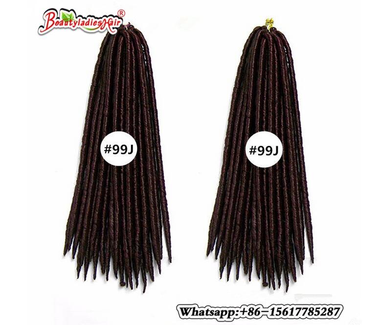 Eunice Αβάνα Mambo Faux Locs Συνθετική πλεξούδα - Συνθετικά μαλλιά - Φωτογραφία 2