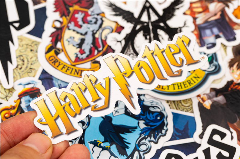 30PCS Pack 2018 New Cute Cartoon Harry Potter Stickers Set Toy Sticker For Luggage Skateboard Motorcycle Laptop Sticker (11)
