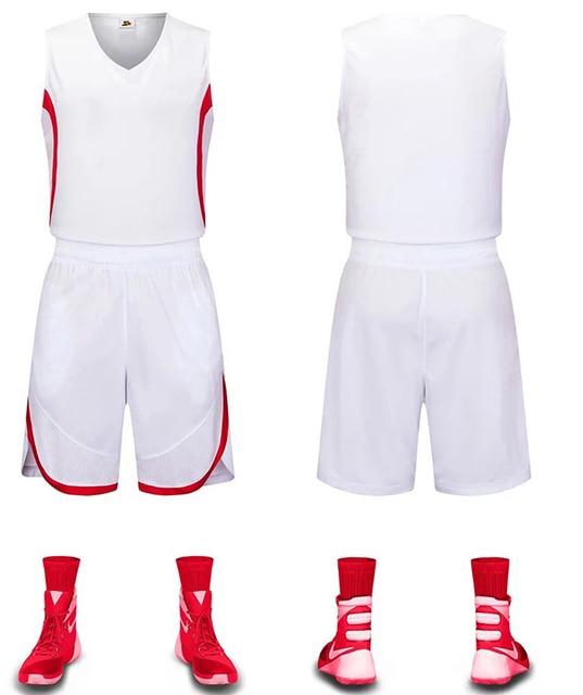 plain white basketball jersey