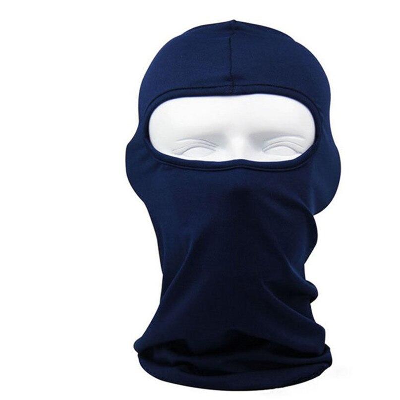 New Classic Lycra Ski Face Mask Bike Bicycle CS Sports Football Mask Balaclava Headband headgear halloween face mask #2a (1)