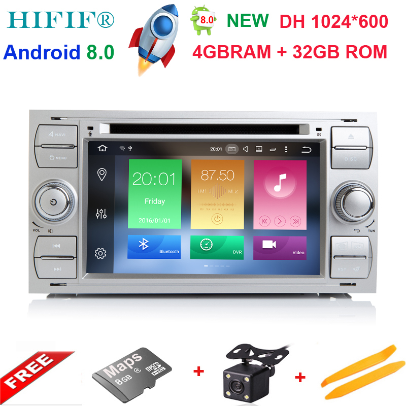 HIFIF Android 8 0 2Din 7 Inch Car DVD Player For Ford Focus Mondeo Kuga 8