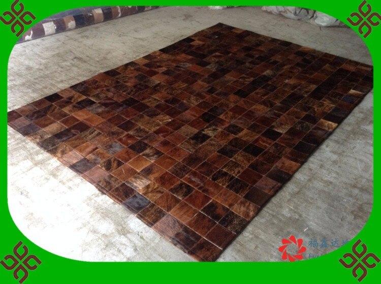 Alla moda di arte tappeto 100% naturale genuino della pelle bovina tappeto in pelle cutterAlla moda di arte tappeto 100% naturale genuino della pelle bovina tappeto in pelle cutter