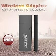 Comfast 1200 Mbps Dual Band 11AC Wireless N 2.4 G + 5 G USB wi-fi adaptador WiFi 802.11ac / a / b / G / N redes de transmisión