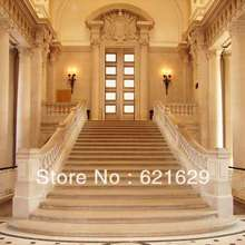 Interior stairs 8'x8′ CP Computer-painted Scenic Photography Background Photo Studio Backdrop ZJZ-507