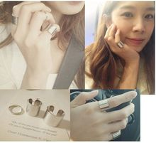 Korean Lord of the sun star hollow out three sets ring  jewelry wholesale