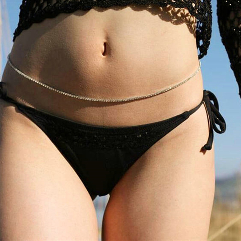 Systematic Fashion Women Rhinestones Belt Female Summer Wedding Bikini Chain Belt Ladies Crystal Diamond Sexy Belly Hip Low Waist Chain 542 Carefully Selected Materials