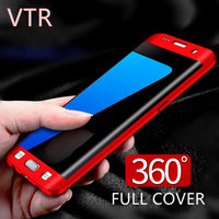 Phone Case For Samsung Galaxy S7 Case S7 Edge Case Cover Hard PC 360 Full Protect