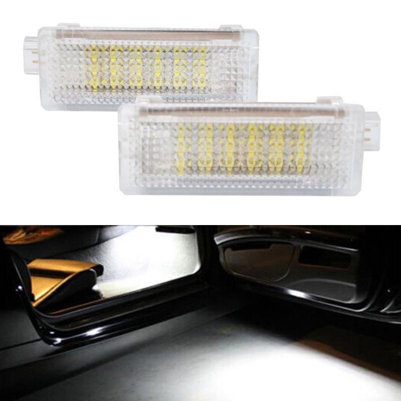 2x No error code LED Car courtesy step welcome light For E60 E90 E92 E93 E81 E87 E88 F01 F02 E86 E85 E83 E84