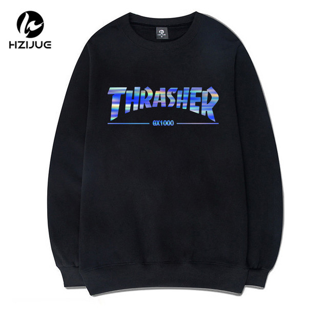 2017 Winter New hoodies Men Autumn brand Hip Hop skateboard hoodies sweatshirts Men causal jumper pullover thrasher Hoodies