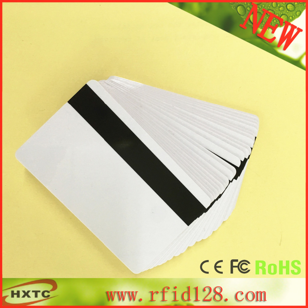 100PCS/Lot Printable Blank/White Hi-Co (2700 3000 4000 OE) Magnetic Stripe PVC Card For E pson /C anon Inkjet Printer 230pcs lot printable blank inkjet pvc id cards for canon epson printer p50 a50 t50 t60 r390 l800