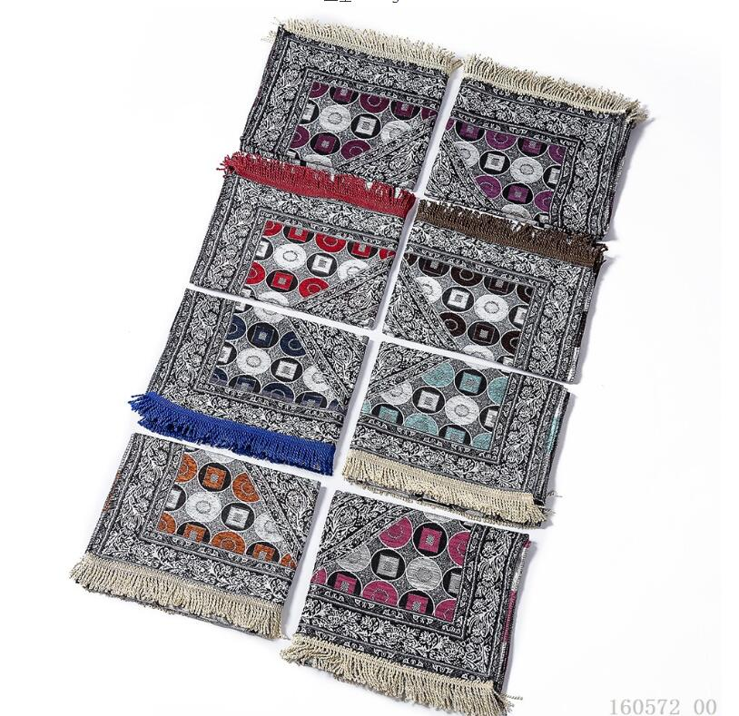 Image 5 - Islam Muslim Prayer Rug for Living Room Chenille Prayer Blanket  Moroccan Persian Rug Floor Outdoor Mat Bedroom Wood Floor CarpetIslamic  Clothing