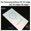 1 pcs impressão digital home button etiqueta para galaxy s6/s6edge/s6edge plus/s7/s7edge/note 7 identificar transparente película de proteção