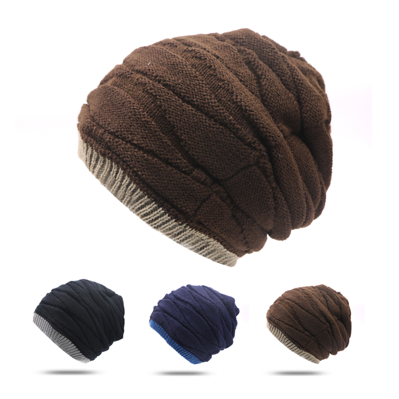 1pcs Winter Beanies For Men Caps Solid Hat Unisex Warm Soft Beanie Skull Knit Cap Hats Knitted Touca Gorro Caps For Women Hats new winter beanies solid color hat unisex warm grid outdoor beanie knitted cap hats knitted gorro caps for men women