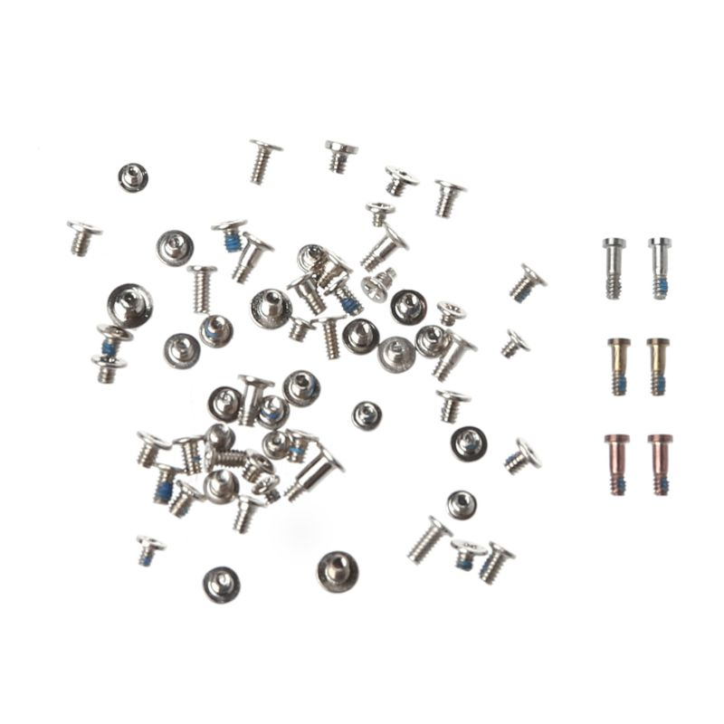 Full Screws Set Bottom Star Screw Kit Repair Bolt Inner Parts Replacement Metal For Apple IPhone 6S